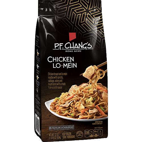 chicken lo mein | p.f. chang's home menu