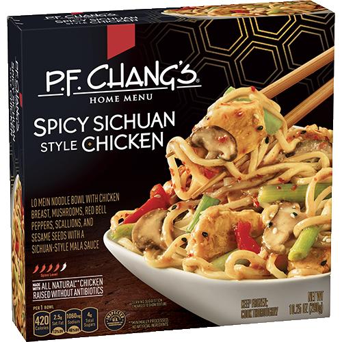 sichuan spicy chicken bowl | p.f. chang's home menu