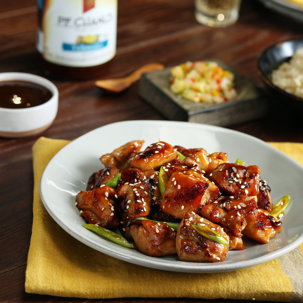 teriyaki stir fry   p.f. chang's home menu